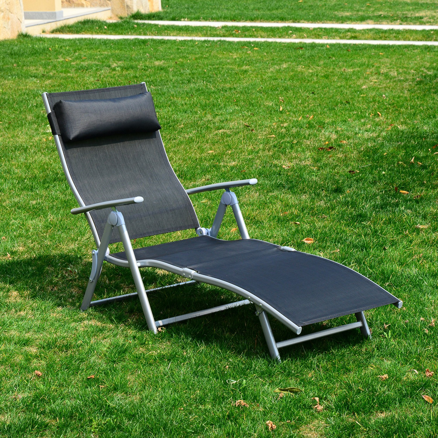 Best ideas about Outdoor Lounge Chairs . Save or Pin Lounge Chair Zero Gravity Folding Chaise Beach Portable Now.
