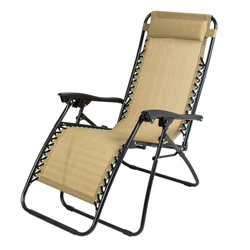 Best ideas about Outdoor Lounge Chairs . Save or Pin Outdoor Lounge Chair Zero Gravity Folding Recliner Patio Now.