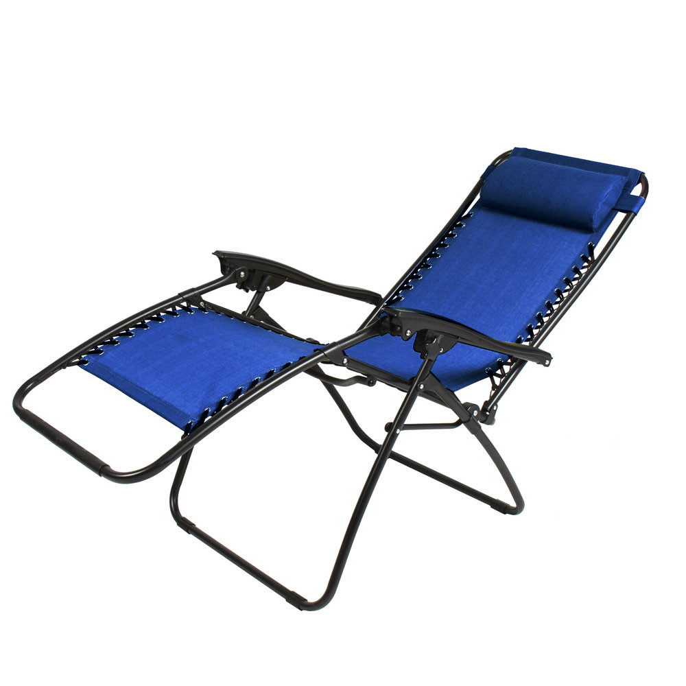 Best ideas about Outdoor Lounge Chairs . Save or Pin 2PCS Folding Zero Gravity Reclining Lounge Chairs Outdoor Now.