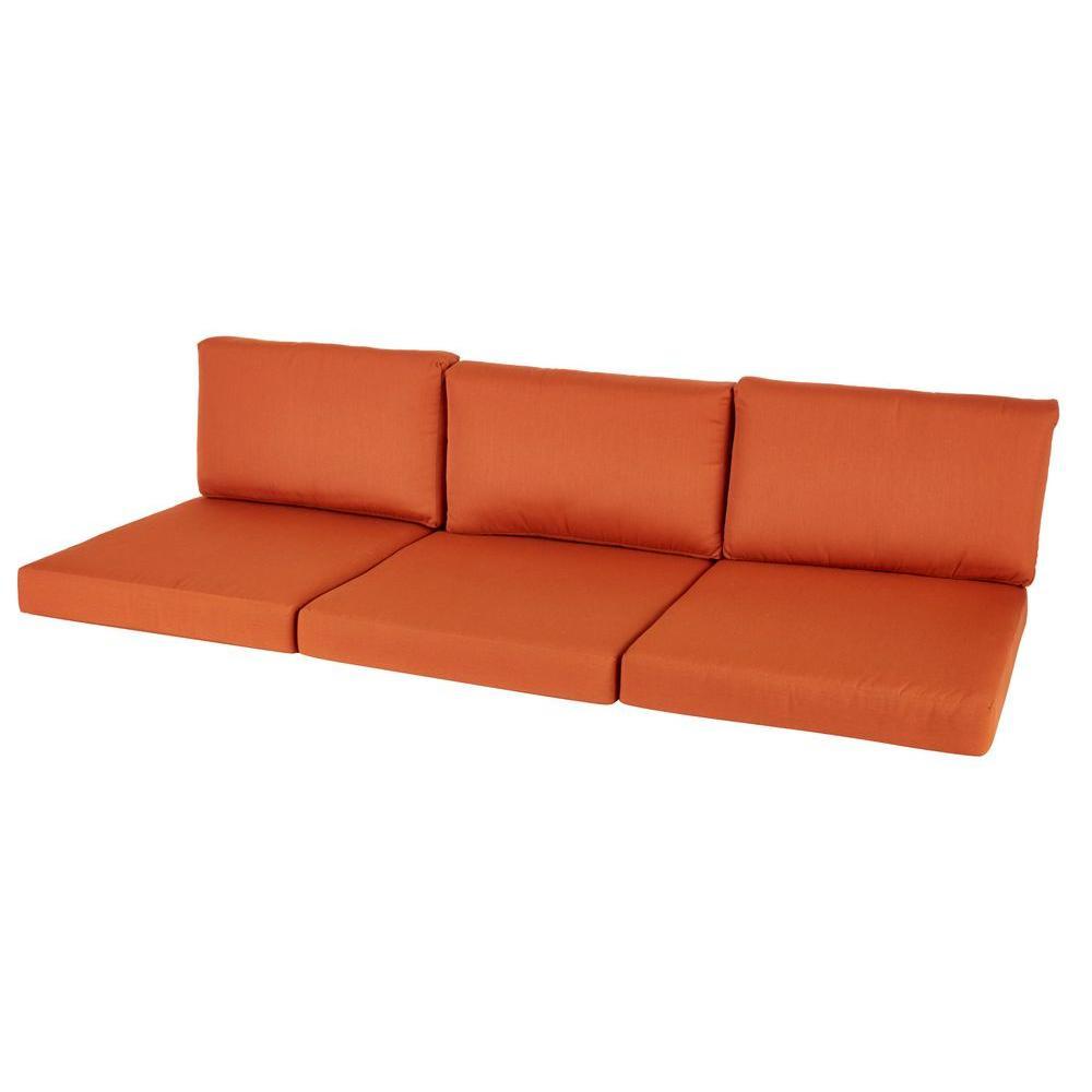 Best ideas about Outdoor Sofa Cushions . Save or Pin Sunbrella Sofa Cushions Hampton Bay Broadview Sunbrella Now.