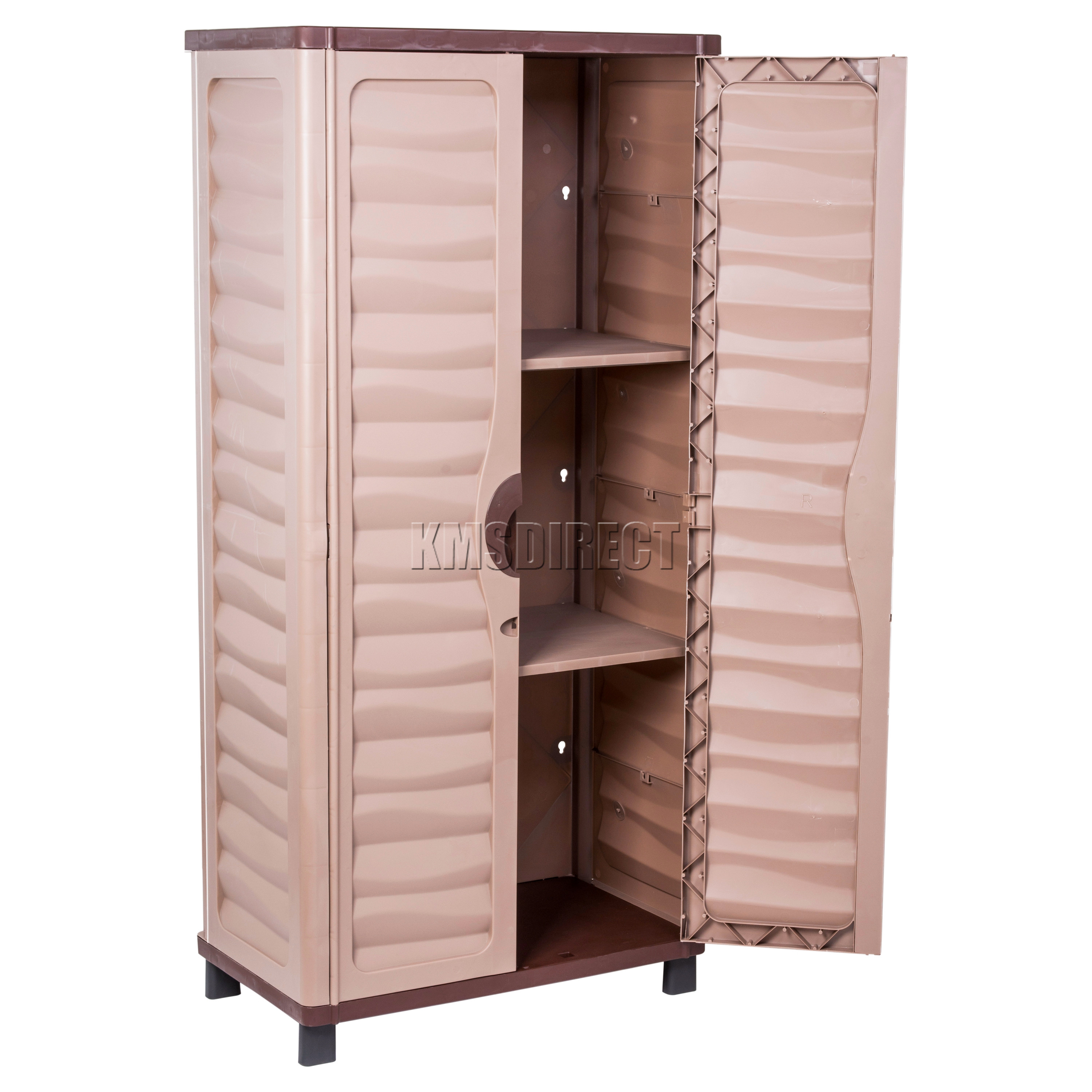 Best ideas about Outdoor Storage Cabinets With Shelves . Save or Pin Starplast Outdoor Plastic Garden Utility Cabinet With 2 Now.