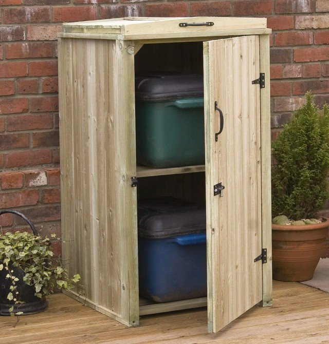 Best ideas about Outdoor Storage Cabinets With Shelves . Save or Pin Outdoor Storage Cabinet Design Ideas — The Decoras Now.