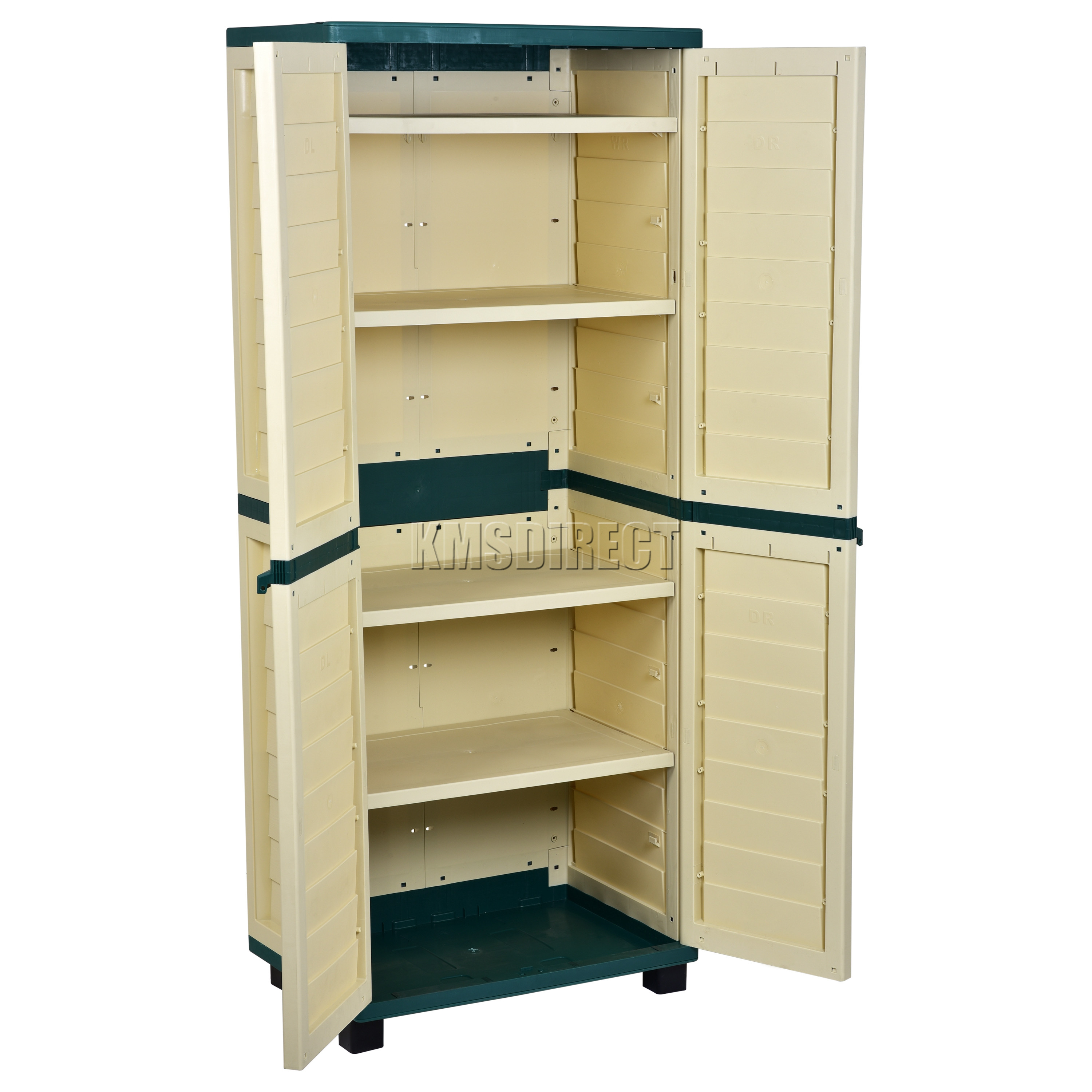 Best ideas about Outdoor Storage Cabinets With Shelves . Save or Pin Starplast Outdoor Plastic Garden Utility Cabinet With 4 Now.