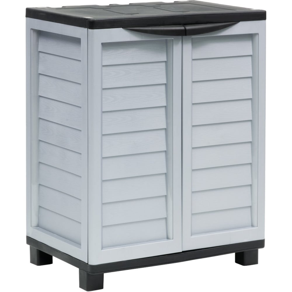 Best ideas about Outdoor Storage Cabinets With Shelves . Save or Pin Starplast Outdoor Double Door Storage Cabinet with 2 Now.