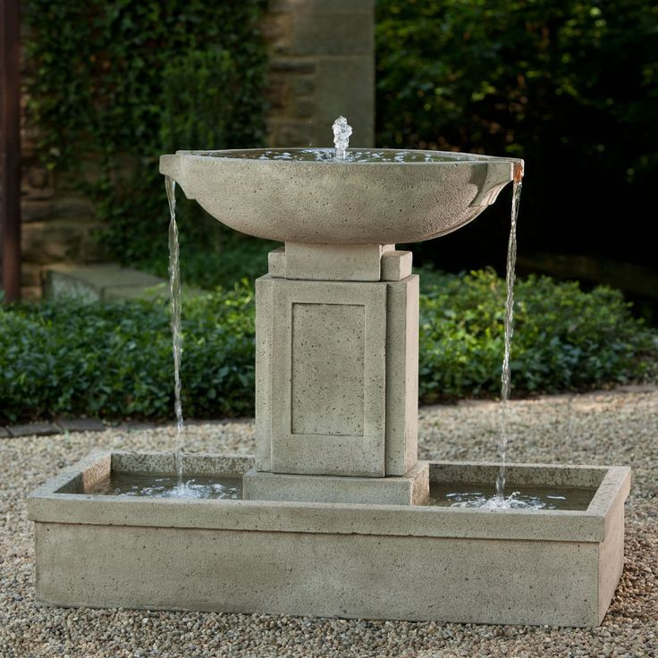 Best ideas about Outdoor Water Fountain . Save or Pin 17 Best ideas about Container Water Gardens on Pinterest Now.