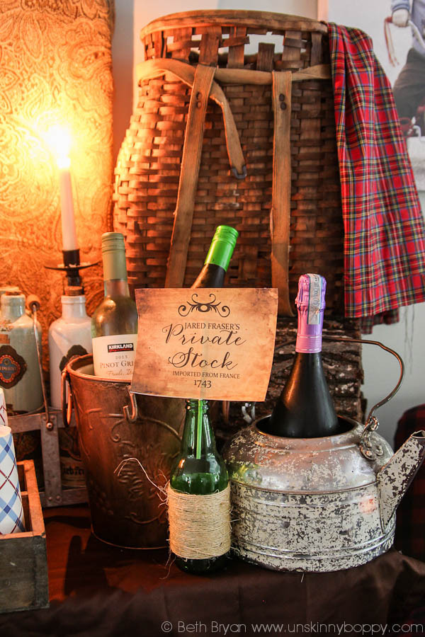 Best ideas about Outlander Gift Ideas . Save or Pin Epic Outlander Premier Party Ideas Decorations & free Now.