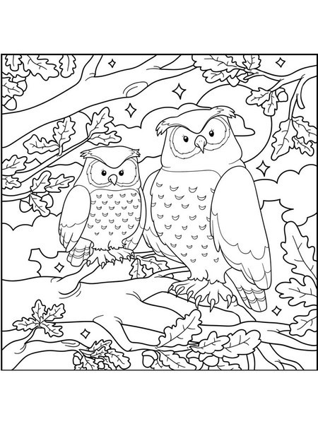 Best ideas about Owl Coloring Sheets For Girls That Say Mom . Save or Pin Baykuş Boyama Sayfaları Now.