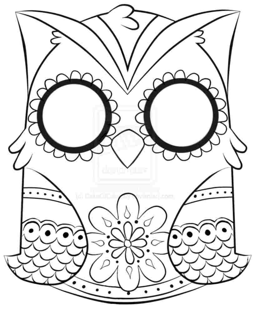 Best ideas about Owl Coloring Sheets For Girls That Say Mom . Save or Pin Girl Owl Coloring Pages Coloring Home Now.