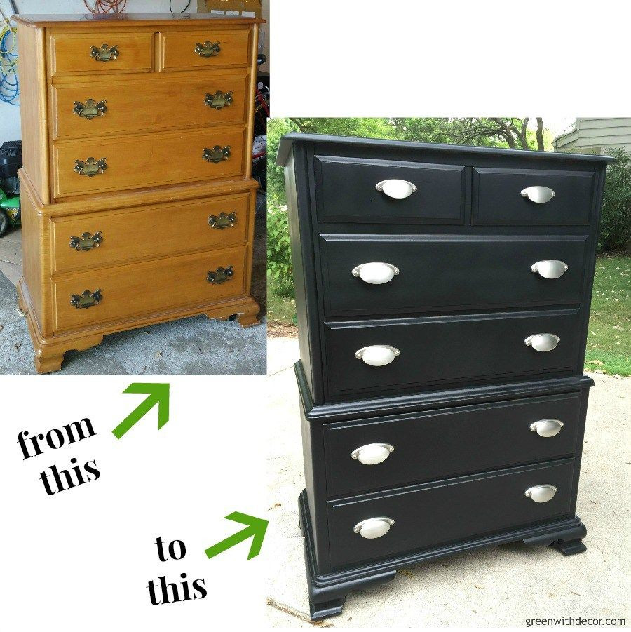 Best ideas about Paint Dresser DIY . Save or Pin A dresser makeover with spray paint DIY Furniture Now.