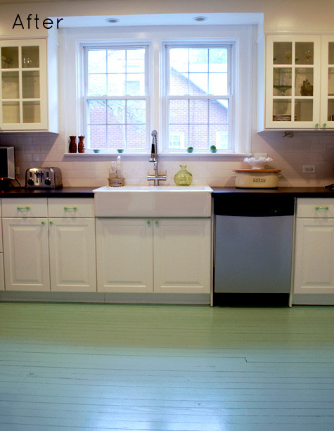 Best ideas about Painted Floors DIY . Save or Pin DIY PAINTED WOODEN FLOOR Now.