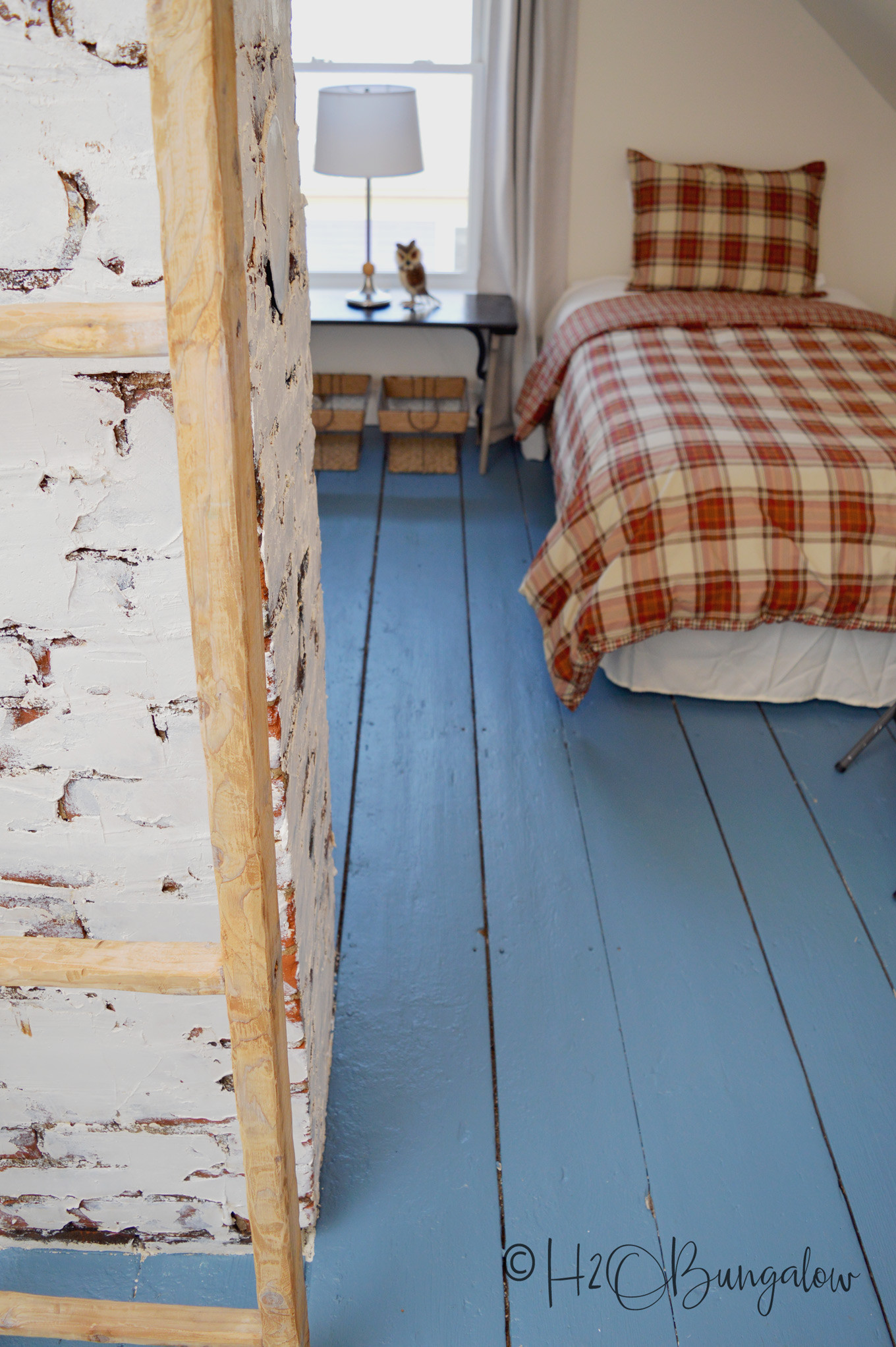 Best ideas about Painted Floors DIY . Save or Pin How to Paint Wood Floors Beautifully to Last H2OBungalow Now.