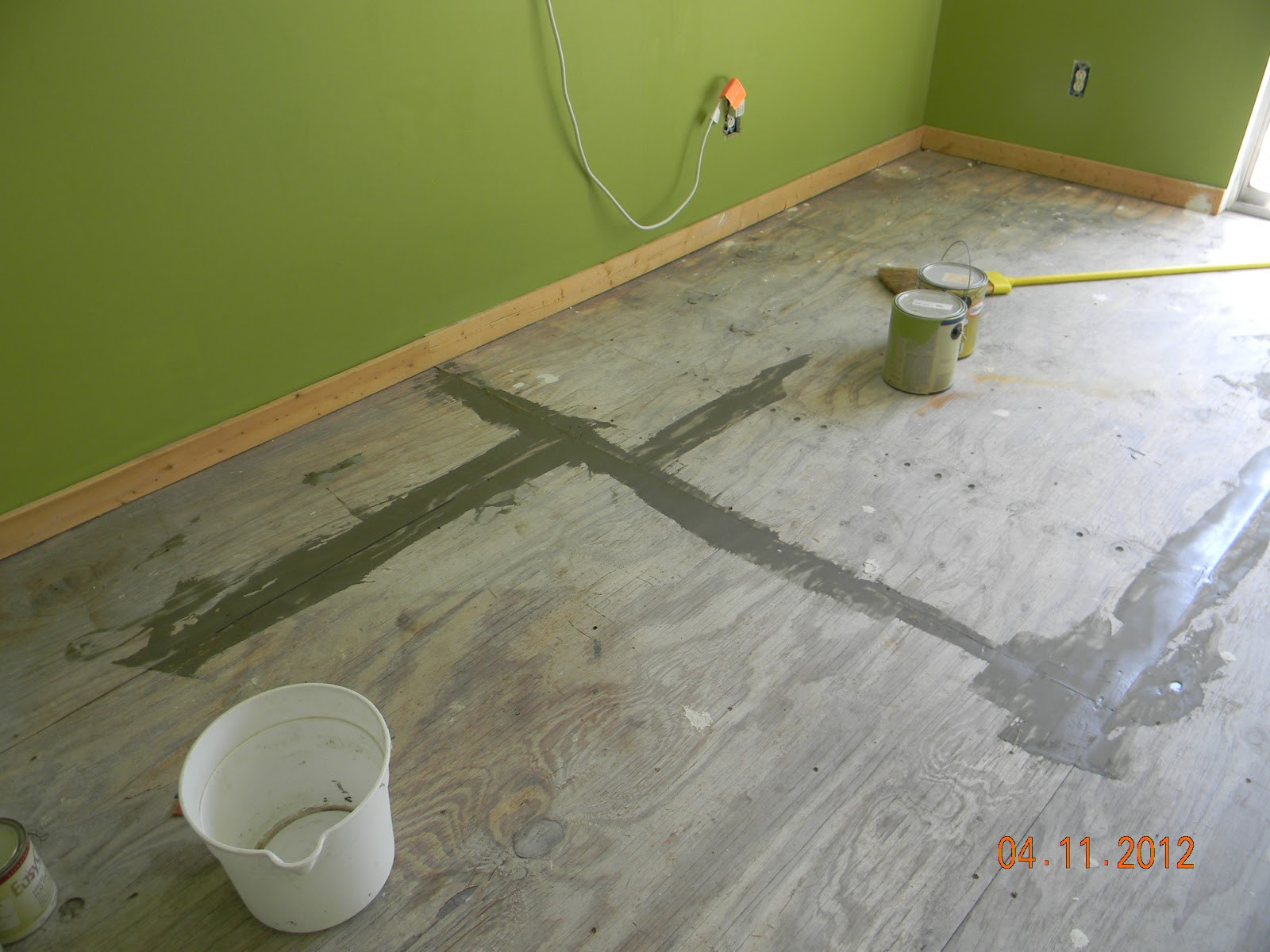 Best ideas about Painted Floors DIY . Save or Pin Life s Too Short To Live In Houston DIY Painted Plywood Now.