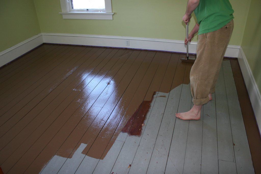 Best ideas about Painted Floors DIY . Save or Pin Painted Wood Floors Will Liven Up Your Home How To DIY Now.