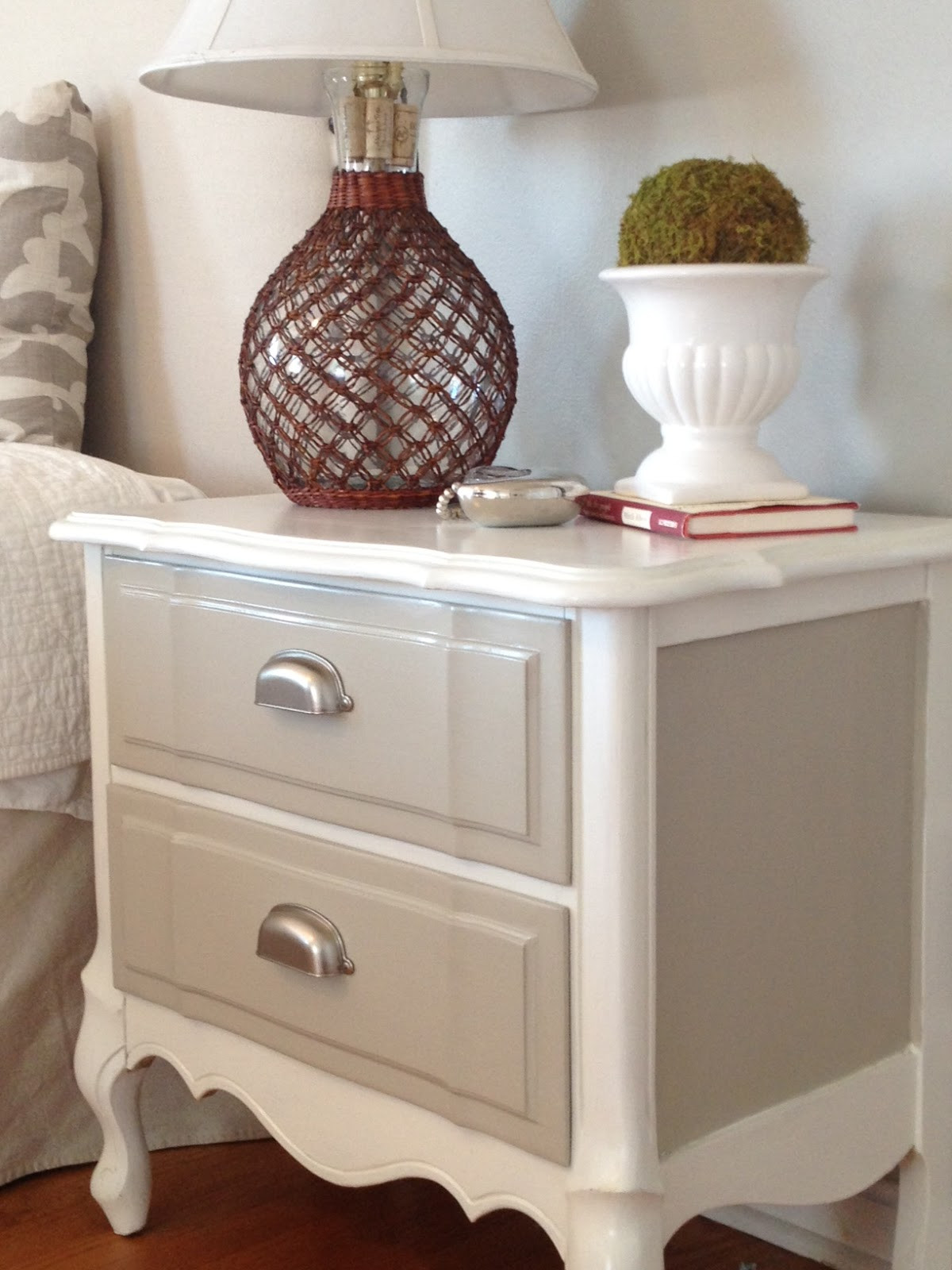 Best ideas about Painted Furniture Ideas . Save or Pin Two It Yourself Refinished nightstand in DIY Chalk Paint Now.