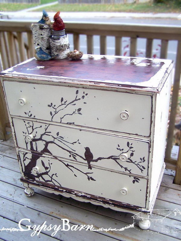 Best ideas about Painted Furniture Ideas . Save or Pin Creative DIY Painted Furniture Ideas Hative Now.