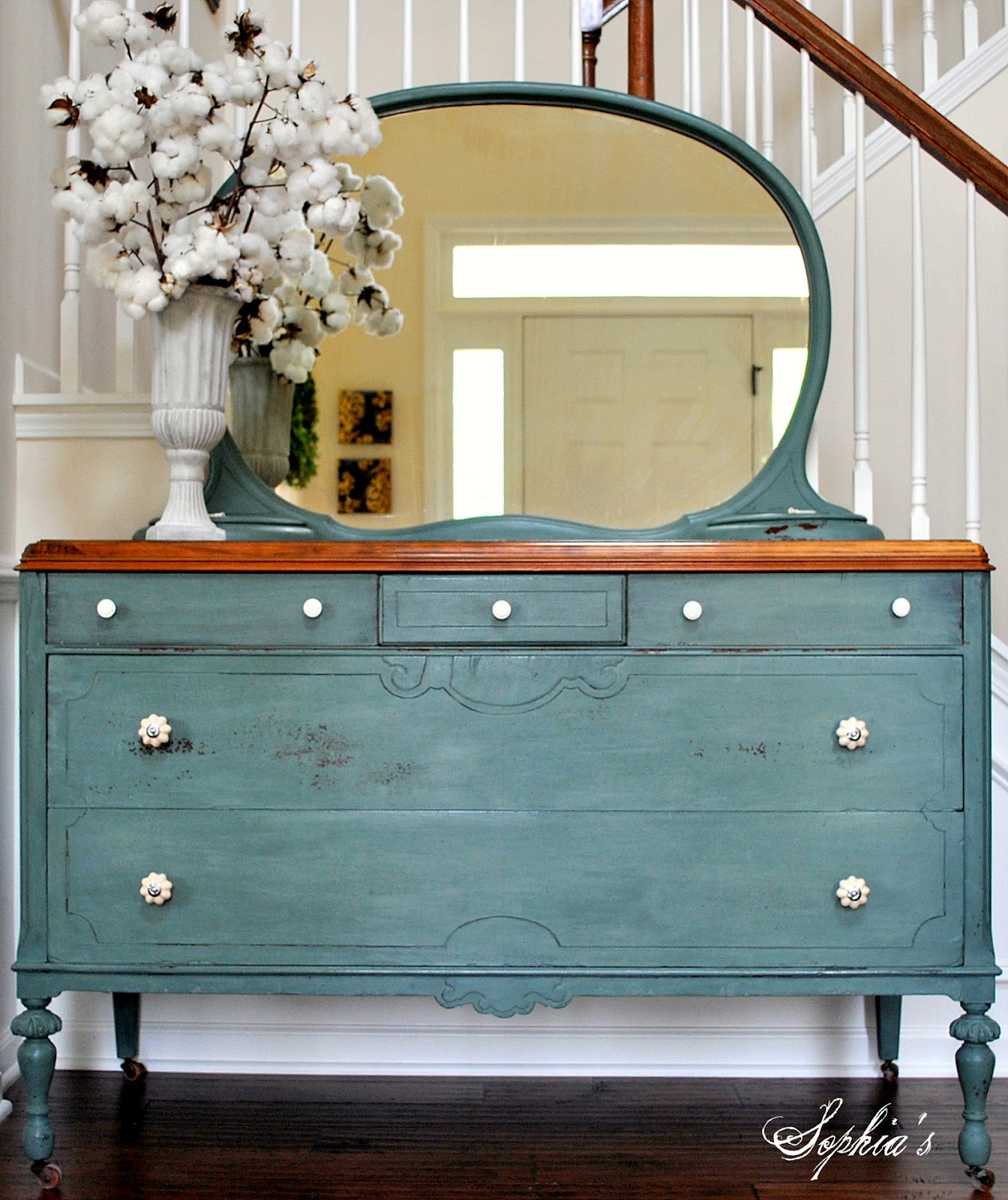 Best ideas about Painted Furniture Ideas . Save or Pin Sophia s Milk Paint Dresser Now.