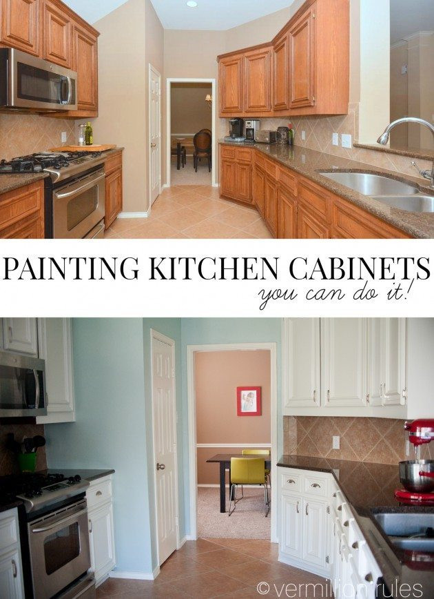 Best ideas about Painting Kitchen Cabinets DIY . Save or Pin A DIY Project Painting Your Kitchen Cabinets Now.