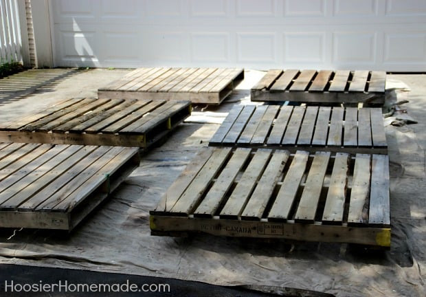 Best ideas about Pallet Decking DIY . Save or Pin How to Build a DIY Pallet Deck Now.