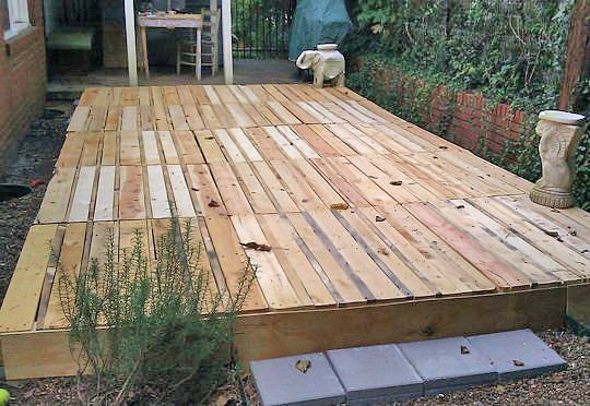 Best ideas about Pallet Decking DIY . Save or Pin How to Build a Fabulous DIY Floating Deck Now.