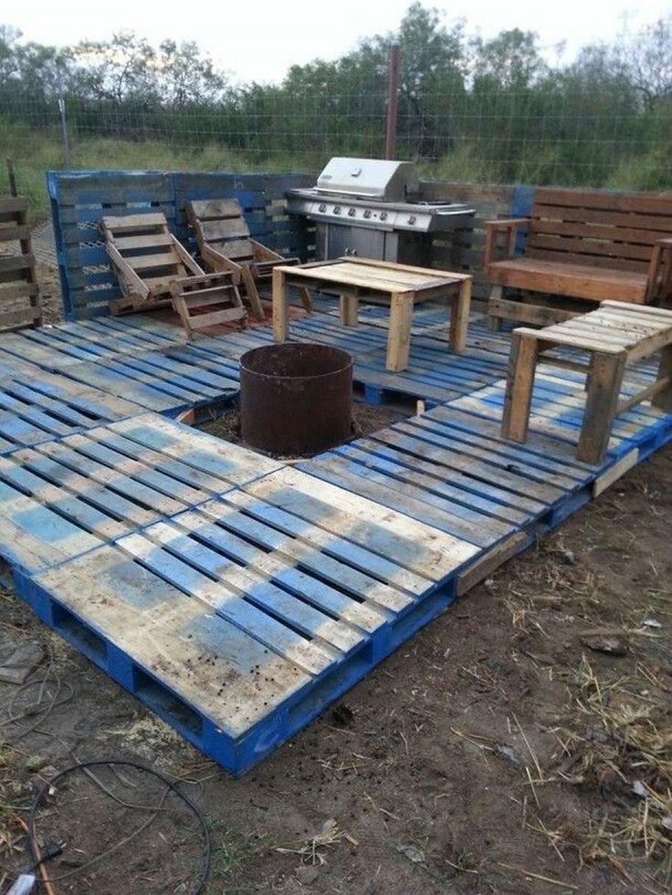 Best ideas about Pallet Decking DIY . Save or Pin Best 25 Pallet patio decks ideas on Pinterest Now.