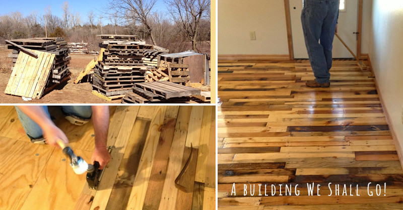 Best ideas about Pallet Flooring DIY . Save or Pin How to Make Pallet Wood Flooring DIY & Crafts Handimania Now.