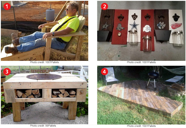 Best ideas about Pallet Gift Ideas . Save or Pin Top 4 Father s Day Gift Ideas Made from Pallets Now.