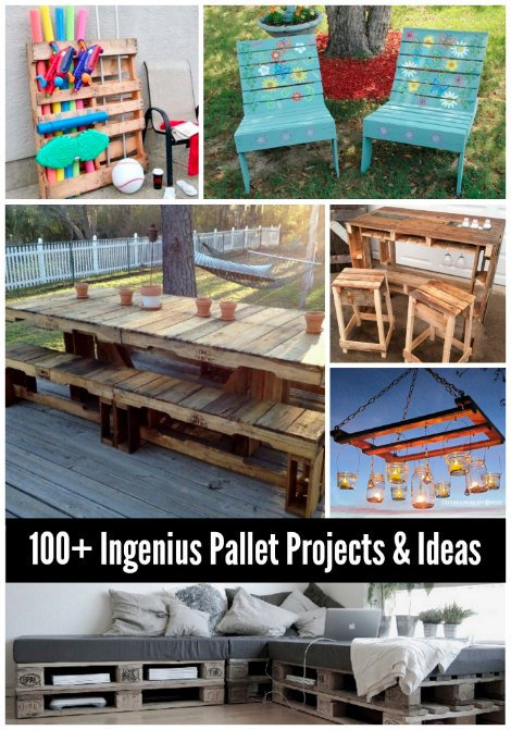 Best ideas about Pallet Gift Ideas . Save or Pin 100 Wood Pallet Projects And Ideas Now.