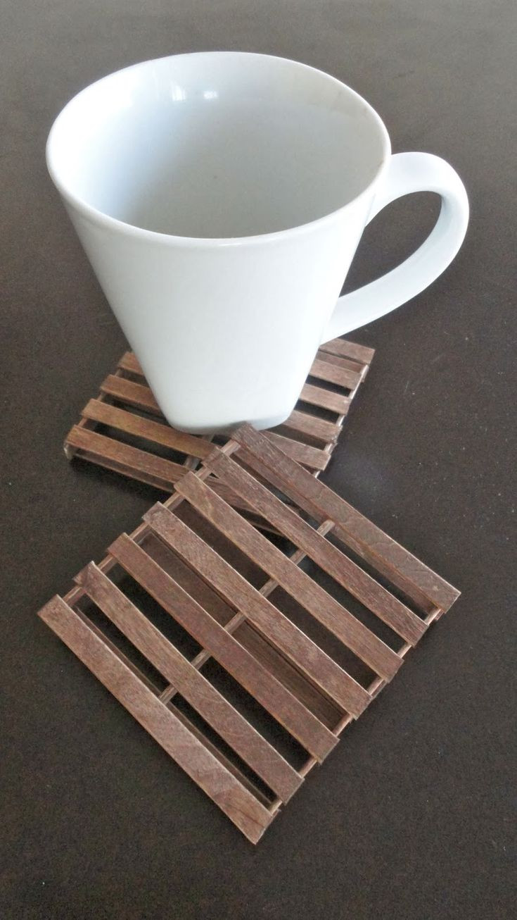 Best ideas about Pallet Gift Ideas . Save or Pin 17 Best ideas about Popsicle Stick Coasters on Pinterest Now.