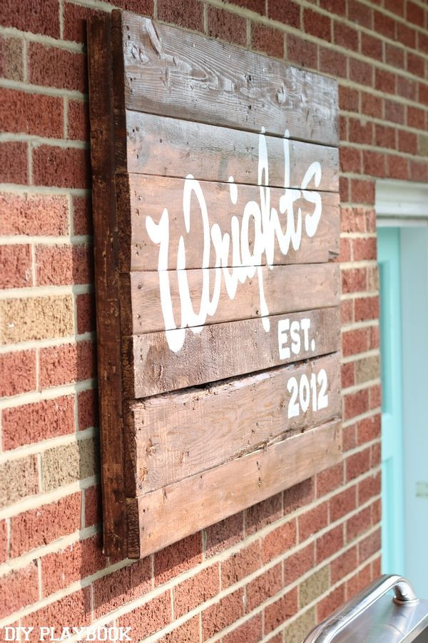 Best ideas about Pallet Gift Ideas . Save or Pin 25 best ideas about Patio signs on Pinterest Now.