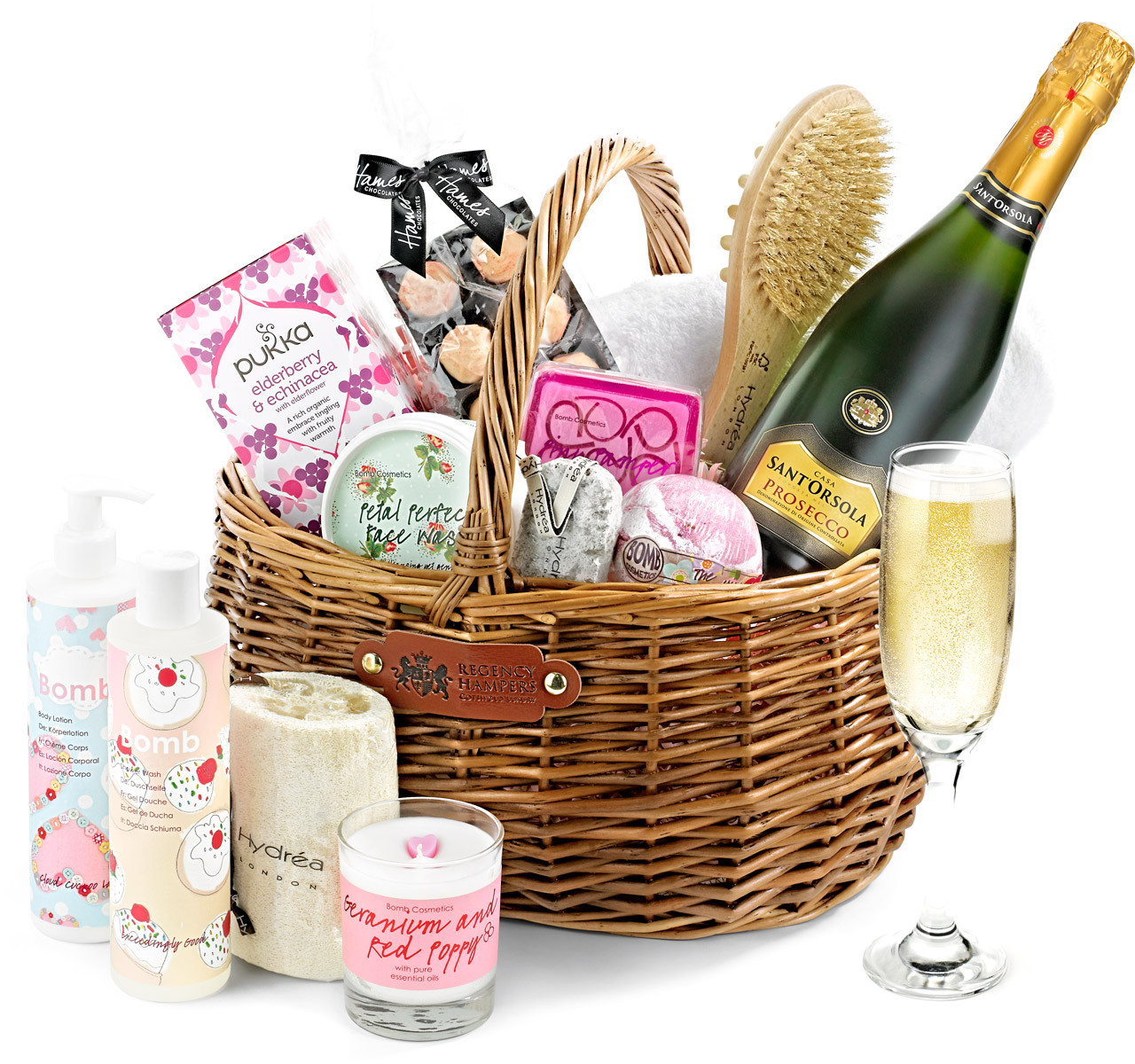 Best ideas about Pamper Gift Basket Ideas . Save or Pin Luxury Pampering Set Gift Basket With Prosecco Regency Now.