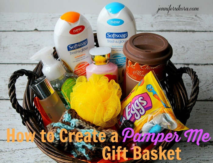Best ideas about Pamper Gift Basket Ideas . Save or Pin How to Create a Pamper Me Gift Basket Jen Around the World Now.