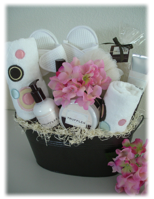 Best ideas about Pamper Gift Basket Ideas . Save or Pin Pamper & Spa Gift Baskets Las Vegas Gift Basket Delivery Now.