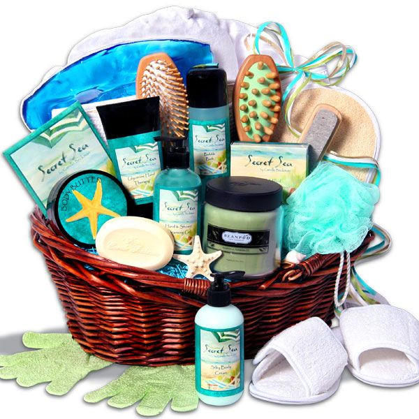 Best ideas about Pamper Gift Basket Ideas . Save or Pin 40 best Spa Gift Basket images on Pinterest Now.