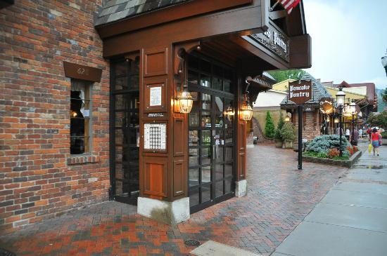 Best ideas about Pancake Pantry Gatlinburg Tn . Save or Pin Entrance on the main street in Gatlinburg Picture of Now.