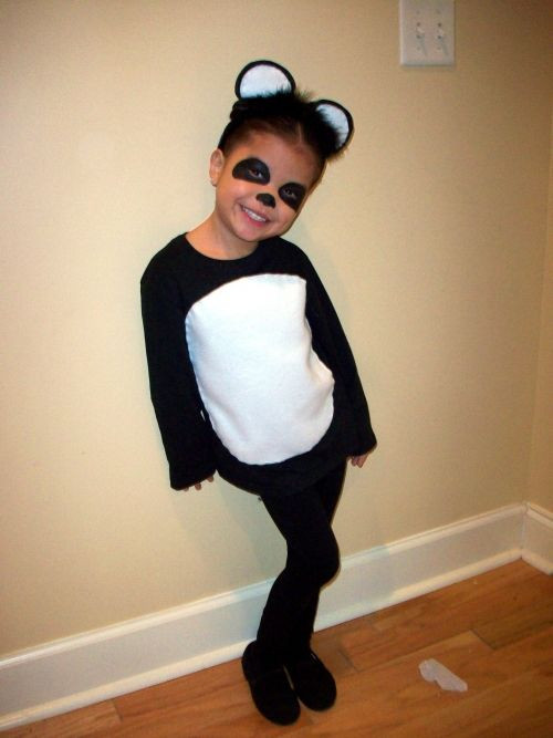 Best ideas about Panda Costume DIY . Save or Pin homemade Panda costume Holiday Now.