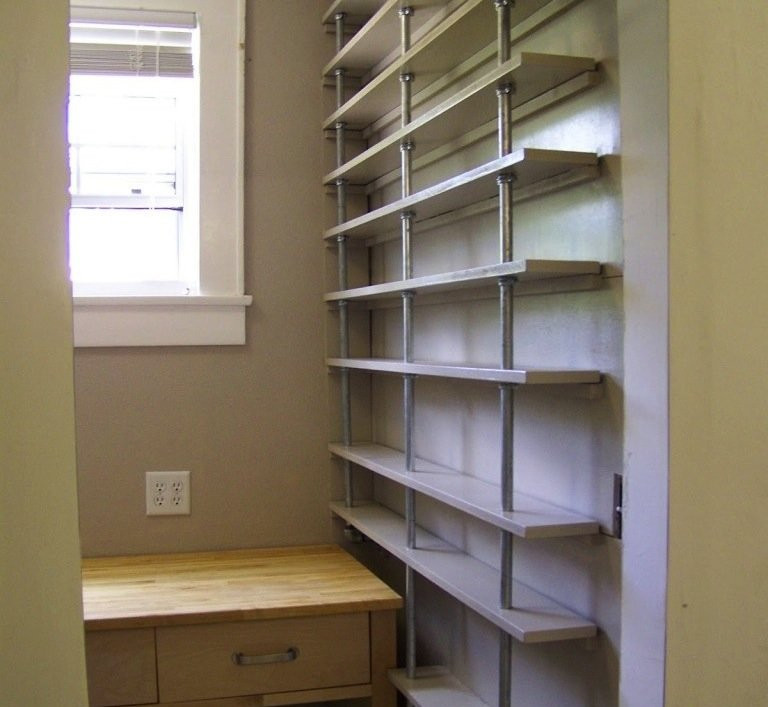 """Best ideas about Pantry Shelves DIY . Save or Pin DIY Kitchen Storage 7 Clever """"Hacks"""" to Try Bob Vila Now."""