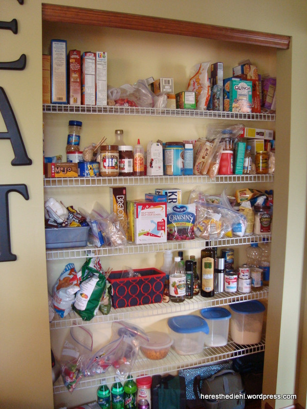 Best ideas about Pantry Shelves DIY . Save or Pin Pantry Makeover DIY Shelf Liners for Wire Shelves Now.
