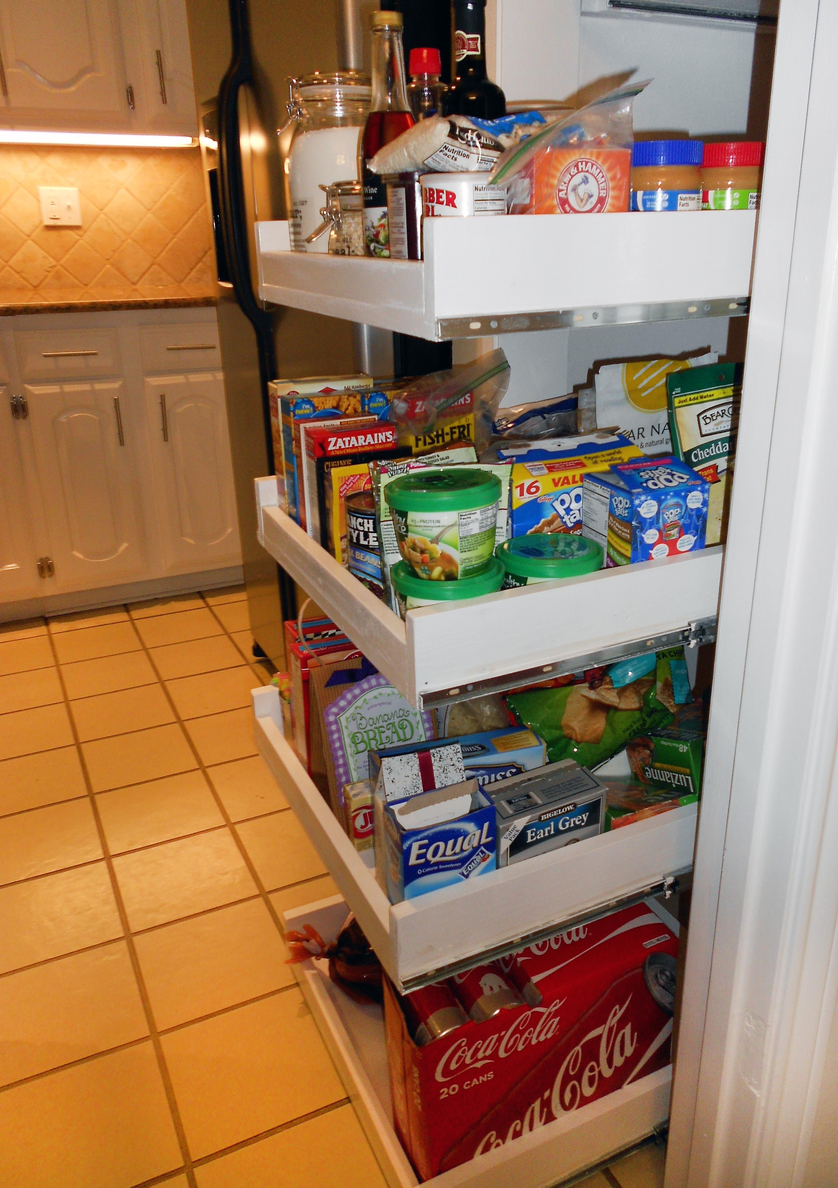 Best ideas about Pantry Shelves DIY . Save or Pin Extended Shelf Life Now.
