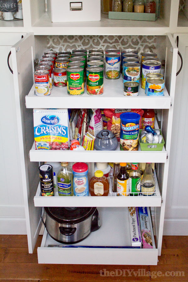 Best ideas about Pantry Shelves DIY . Save or Pin Slide Out Kitchen Pantry Drawers Inspiration The Now.