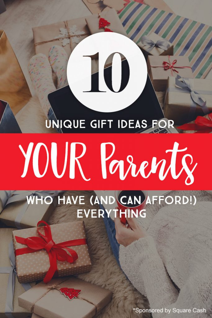 Best ideas about Parents Gift Ideas . Save or Pin 10 Unique Gift Ideas for YOUR Parents Who Have And Can Now.