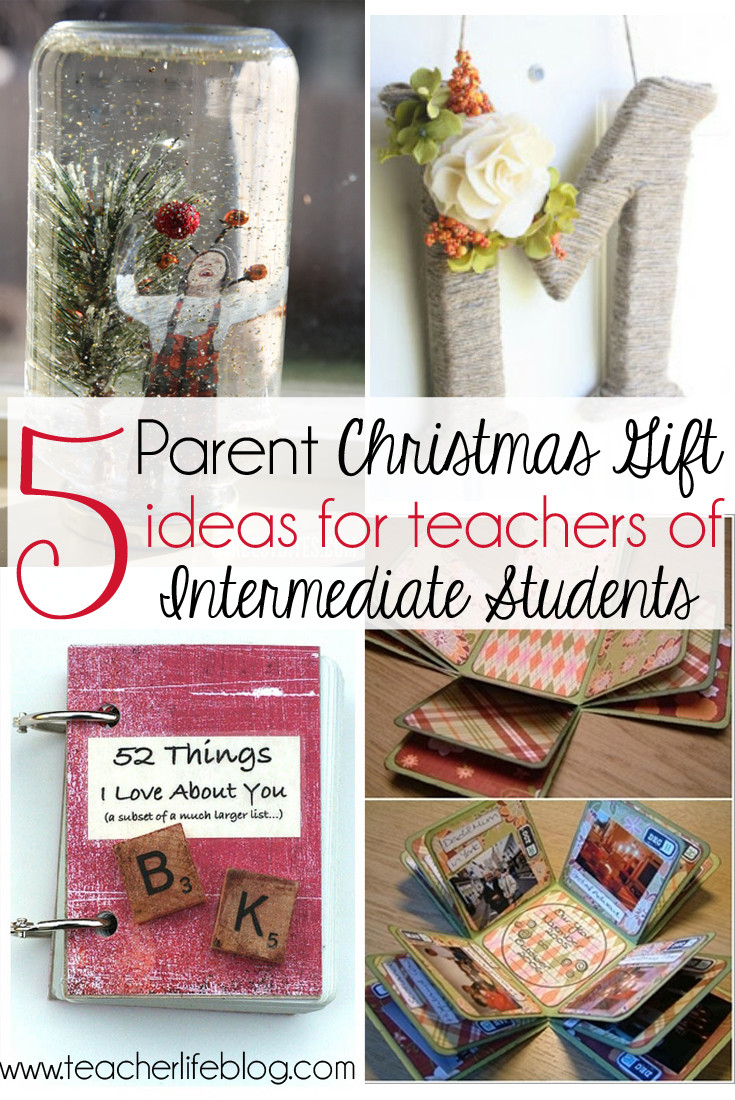 Best ideas about Parents Gift Ideas . Save or Pin 5 Parent Christmas Gift Ideas for Upper Elementary Classrooms Now.