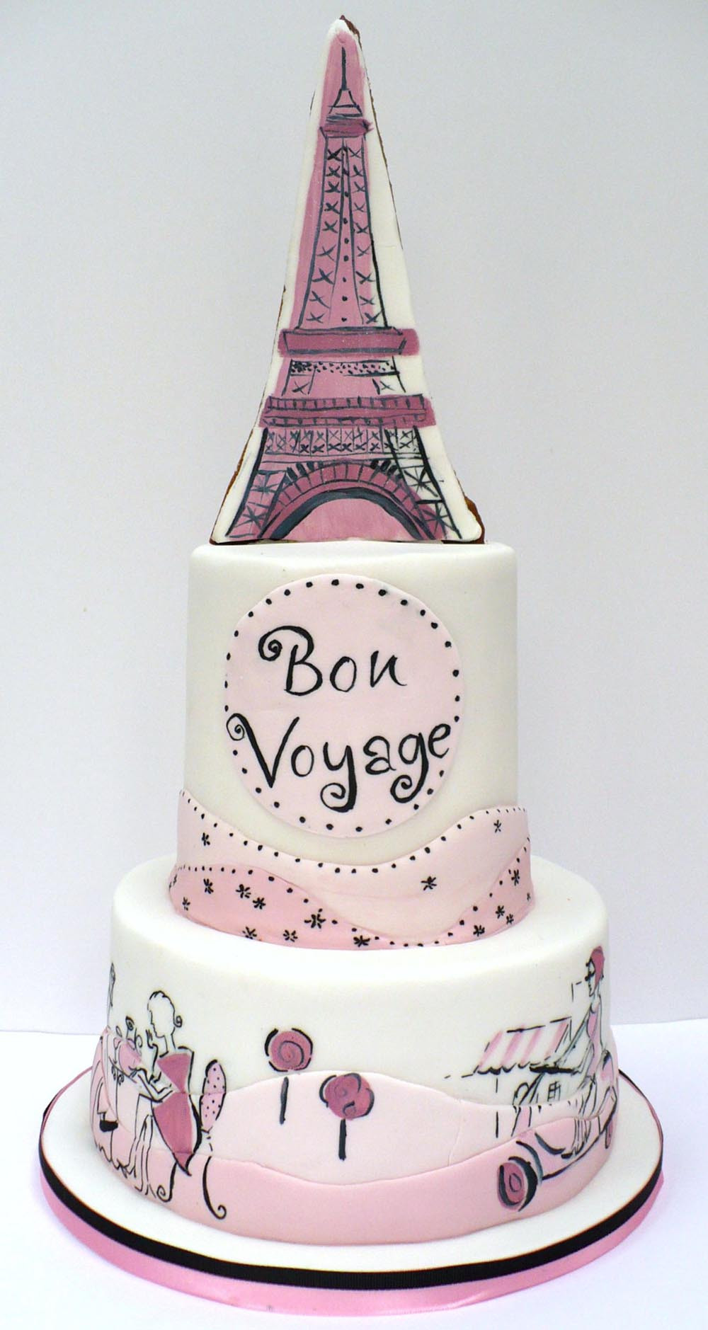 Best ideas about Paris Birthday Cake . Save or Pin Paris cake Now.