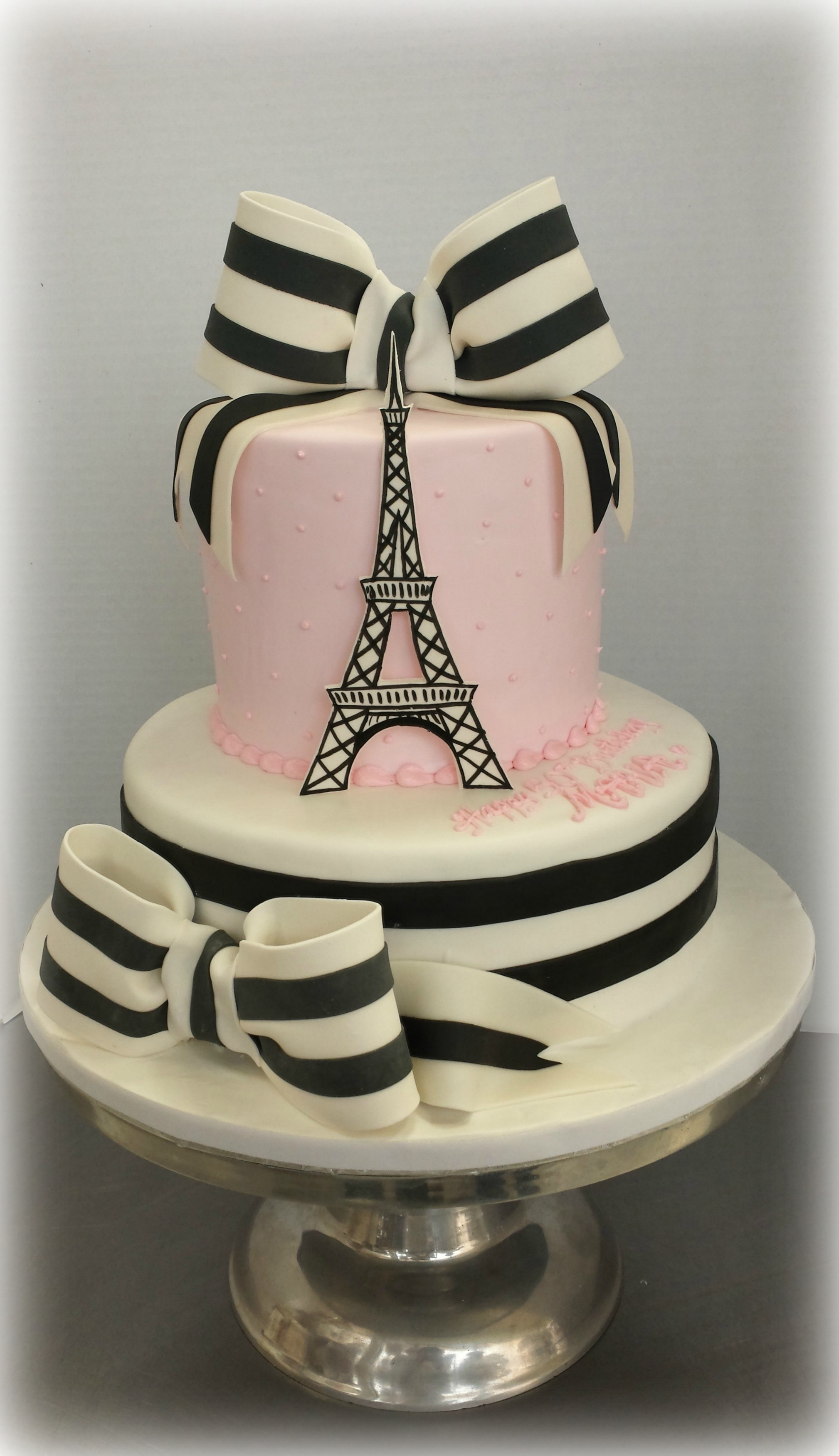 Best ideas about Paris Birthday Cake . Save or Pin Paris Flair for Milestone Birthday Now.