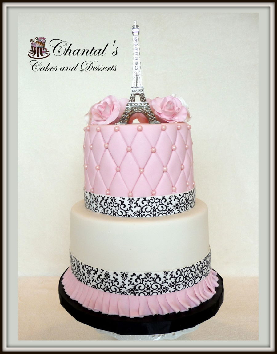 Best ideas about Paris Birthday Cake . Save or Pin Paris Birthday Cake CakeCentral Now.