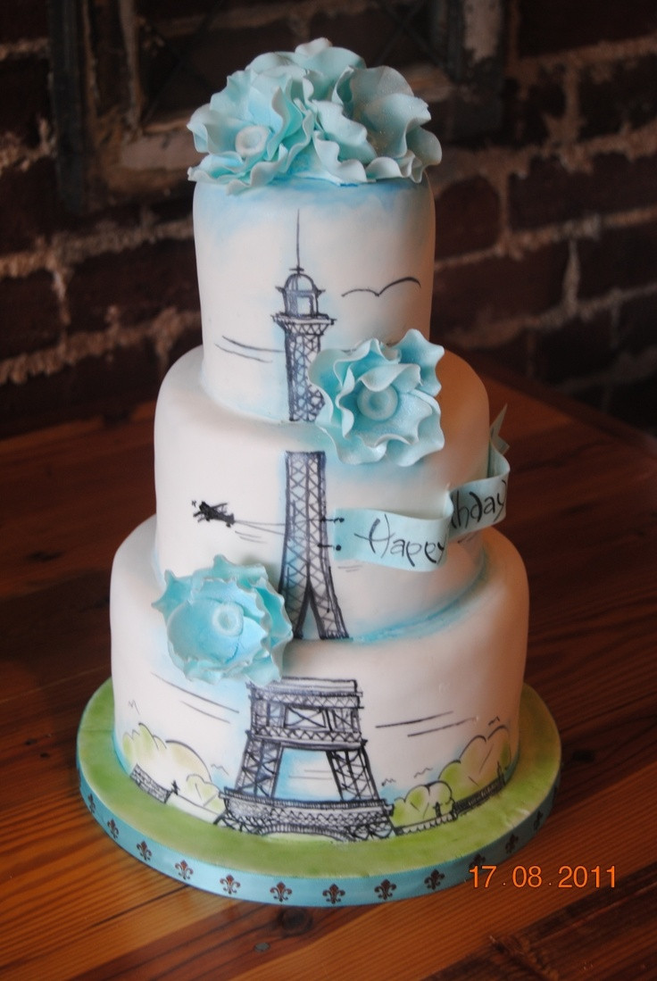 Best ideas about Paris Birthday Cake . Save or Pin 17 Best ideas about Paris Cakes on Pinterest Now.