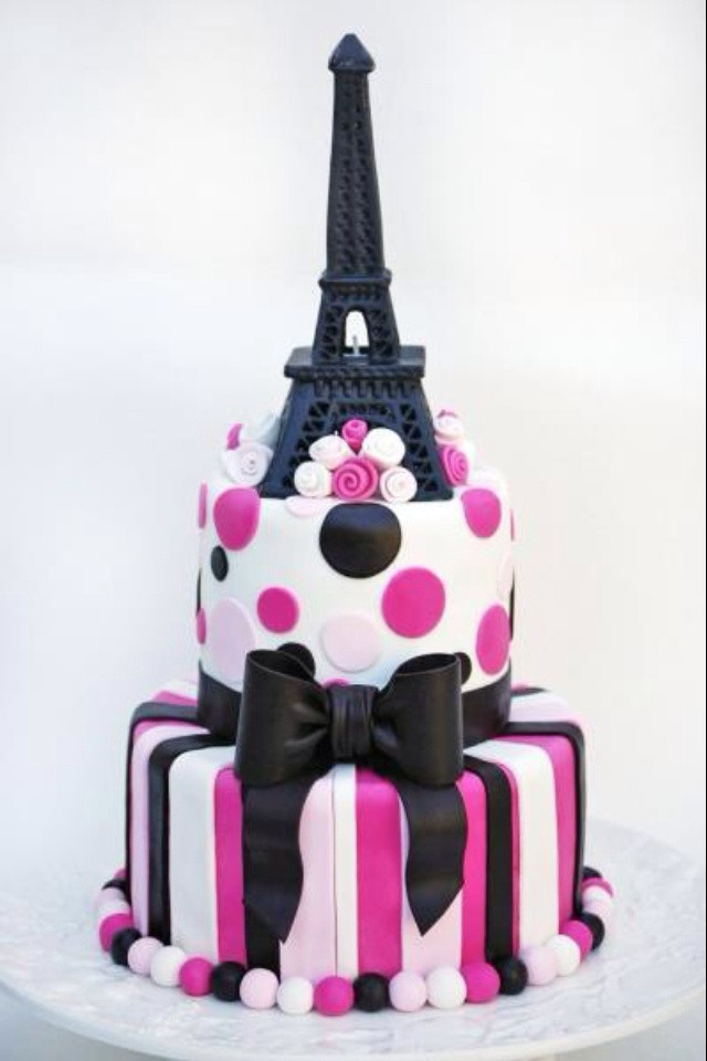 Best ideas about Paris Birthday Cake . Save or Pin Paris birthday cake I love Now.