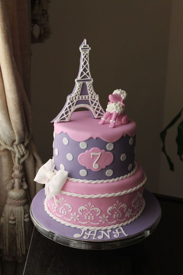 Best ideas about Paris Birthday Cake . Save or Pin 130 best images about Travel Cakes on Pinterest Now.