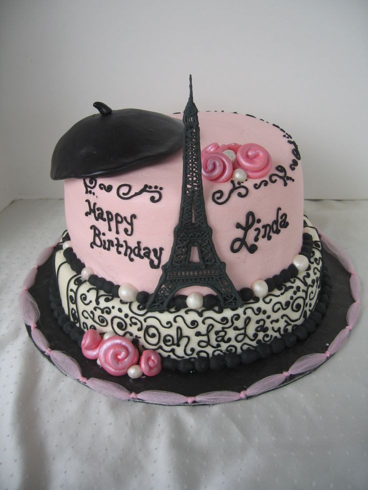 Best ideas about Paris Birthday Cake . Save or Pin 844 best images about Parisian Cakes on Pinterest Now.