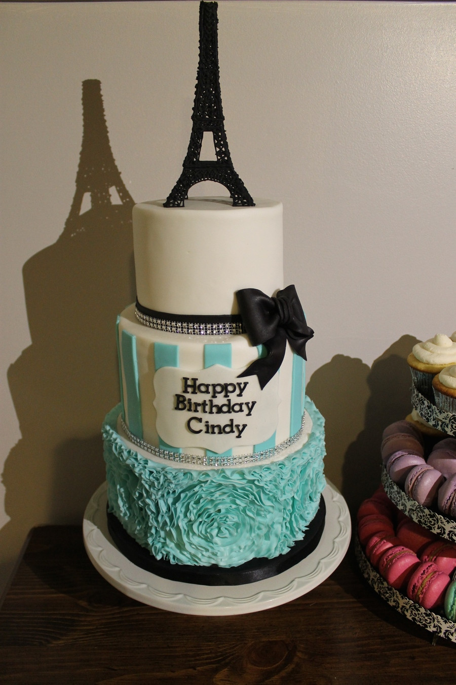 Best ideas about Paris Birthday Cake . Save or Pin Paris Themed Birthday Cake CakeCentral Now.