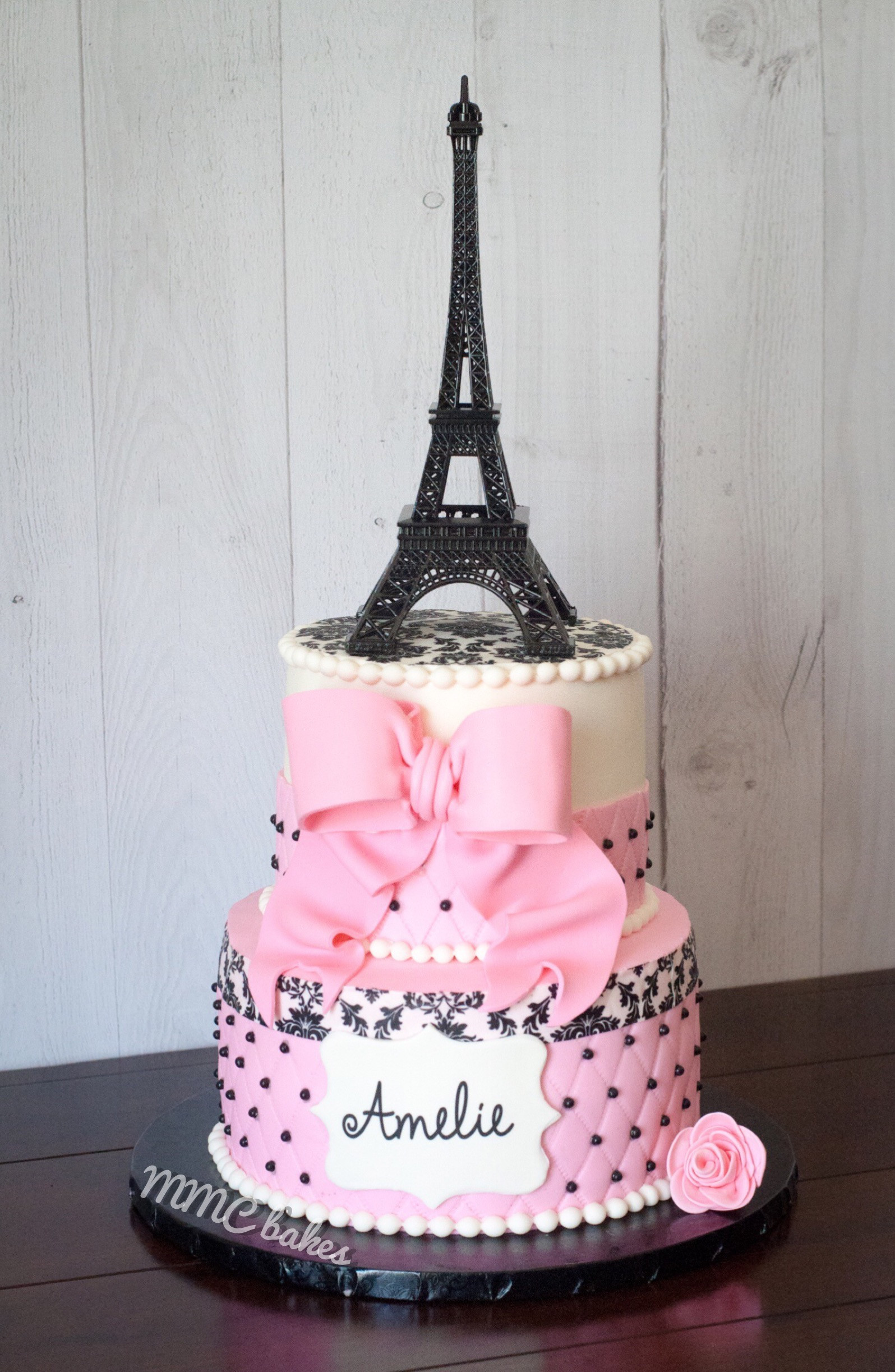 Best ideas about Paris Birthday Cake . Save or Pin Paris 1st Birthday Cake & Cupcakes – MMC Bakes Now.